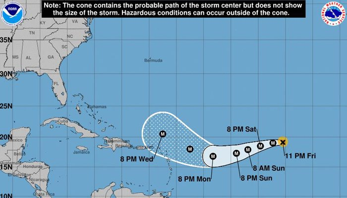 It's still too soon to say how Irma may impact the U.S. coast, but it's one people should keep an eye on asas it churns its way west. (Source: NHC)