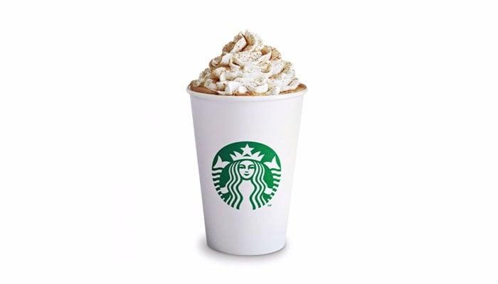 The pumpkin spice latte is returning. (Source: Starbucks/CNN)