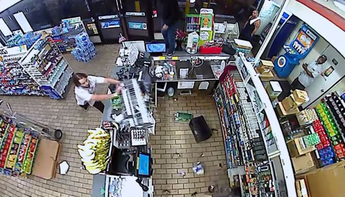 Watch as 7-Eleven customer goes berserk, trashes southern California store