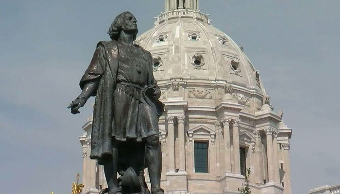 The petition said Columbus does not represent the values of Minnesotans and Prince does. (Source: WCCO/CNN)