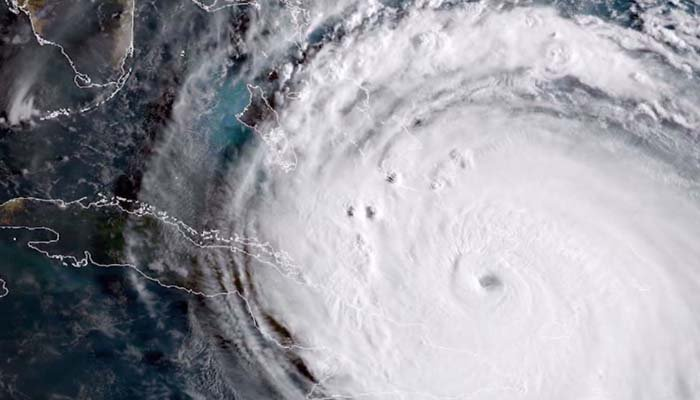 Hurricane Irma has made landfall in the Florida Keys. (Source: NASA/NOAA via CNN)