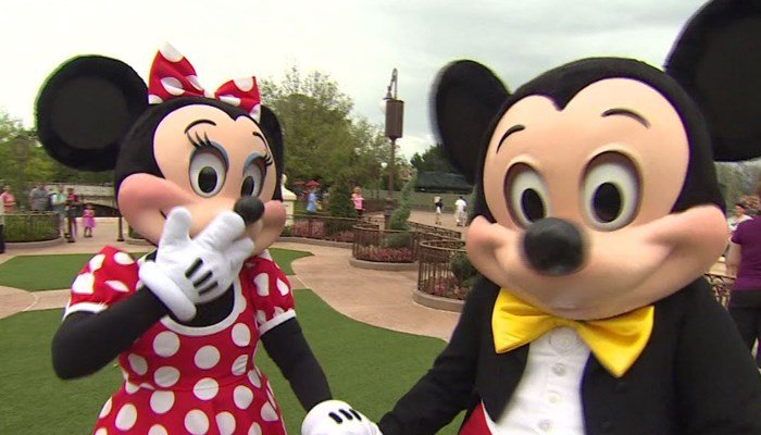 Minnie and Mickey are back in business after Hurricane Irma forced a three-day closing. (Source: CNN)