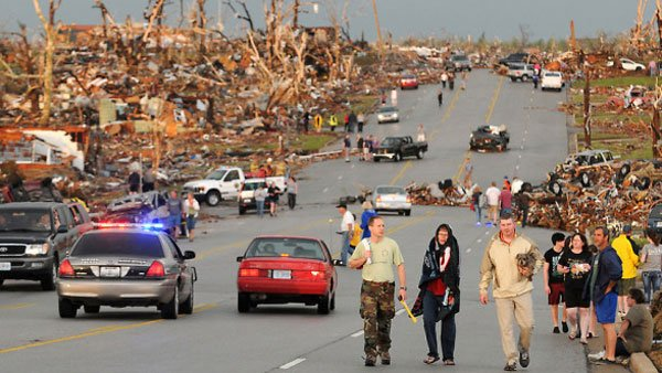 Joplin, MO, was leveled by a tornado that killed 153 people on May 22. (Source: CNN)