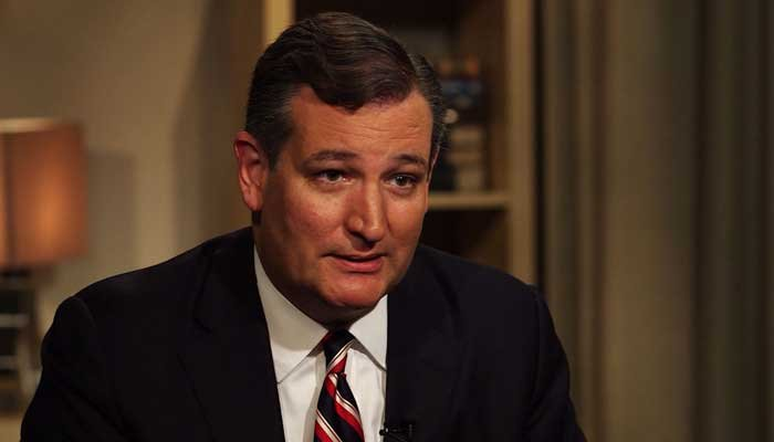 """On Wednesday, Sen. Ted Cruz talked about a staffer's recent """"screw-up""""  on his Twitter account and how the media has portrayed it. (Source: CNN)"""