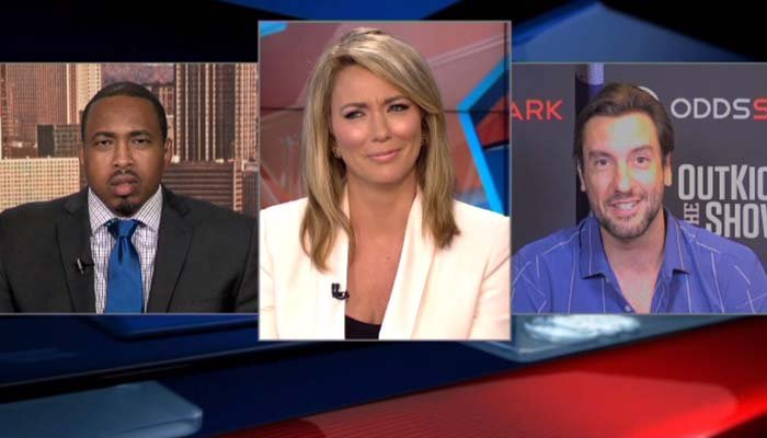 Clay Travis, right, sparked a debate about sexism while on CNN discussing ESPN. (Source: CNN)