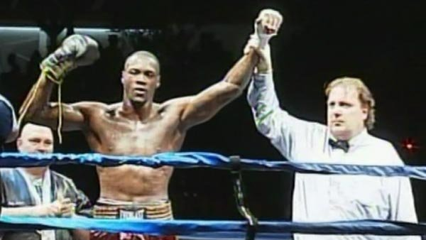 Deontay Wilder defeated Damon Reed in the bout Saturday. (Source: WVTM/CNN)