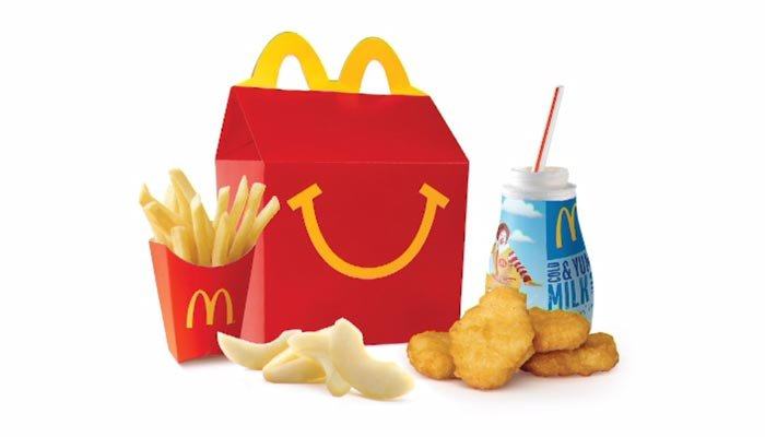 McDonald's new juice box makes the Happy Meal a little healthier