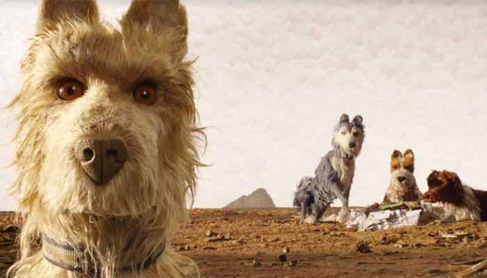The movie is filmed in entirely in stop-motion and features a massive list of Hollywood's finest as voice actors. (Source: Isle of Dogs/Facebook)
