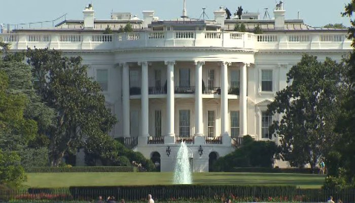 Person with firearms arrested near White House