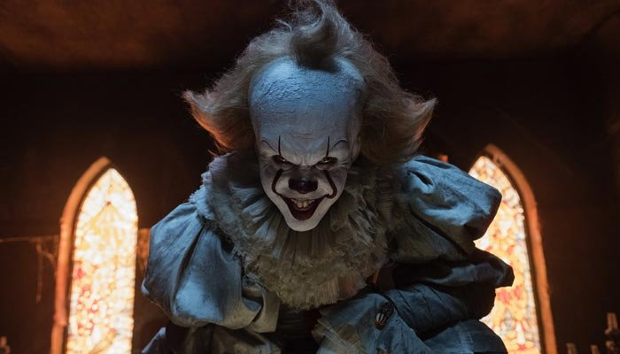 Writer Gary Dauberman and director andres Muschietti are both expected to return for the sequel, which will follow the events of Stephen King's original novel. (Source: Brooke Palmer/Warner Bros. Pictures via AP)