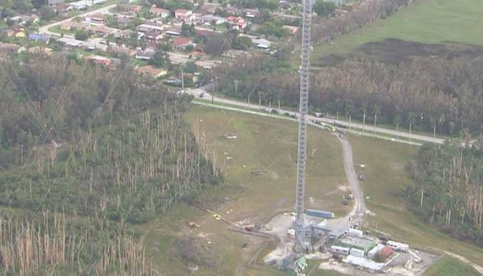 3 dead after crane collapses at TV tower in Miami Gardens