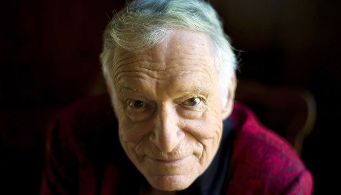 The founder of one of the world's most recognizable brands Hugh Hefner died Wednesday at age 91. (Source: AP Photo/Kristian Dowling)