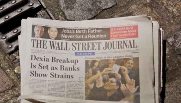 Wall Street Journal to end print editions in Europe and Asia