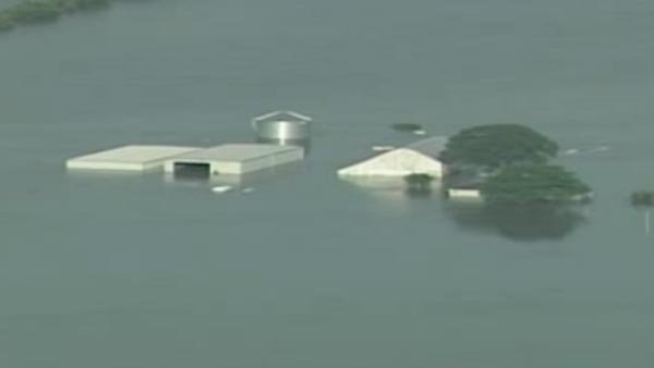 Intense rain and melting snow surged its way down the Mississippi River, causing historic flooding. (Source: KFVS)