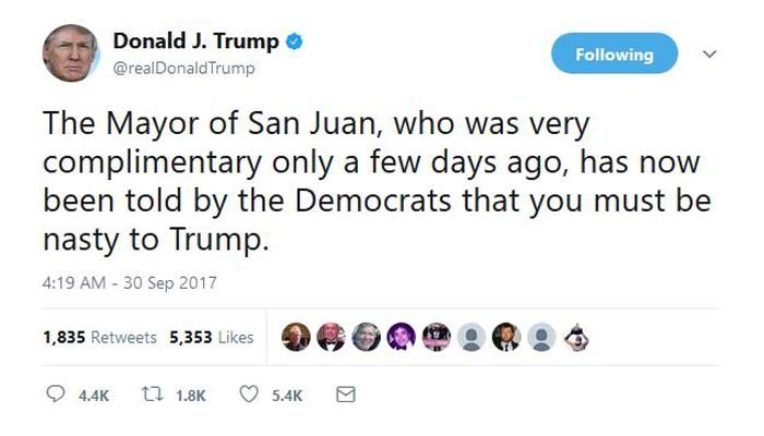 (Source: @realDonaldTrump/Twitter)