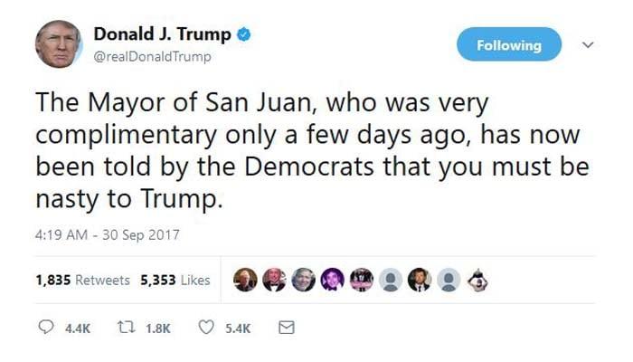 (Source: @realDonaldTrump/Twitter)