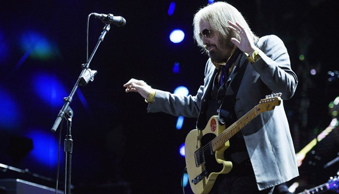 Tom Petty performs with The Heartbreakers during their headlining set on Day 1 of the inaugural 2017 Arroyo Seco Music Festival on Saturday, June 24, 2017, in Pasadena, Calif. (Photo by Chris Pizzello/Invision/AP)