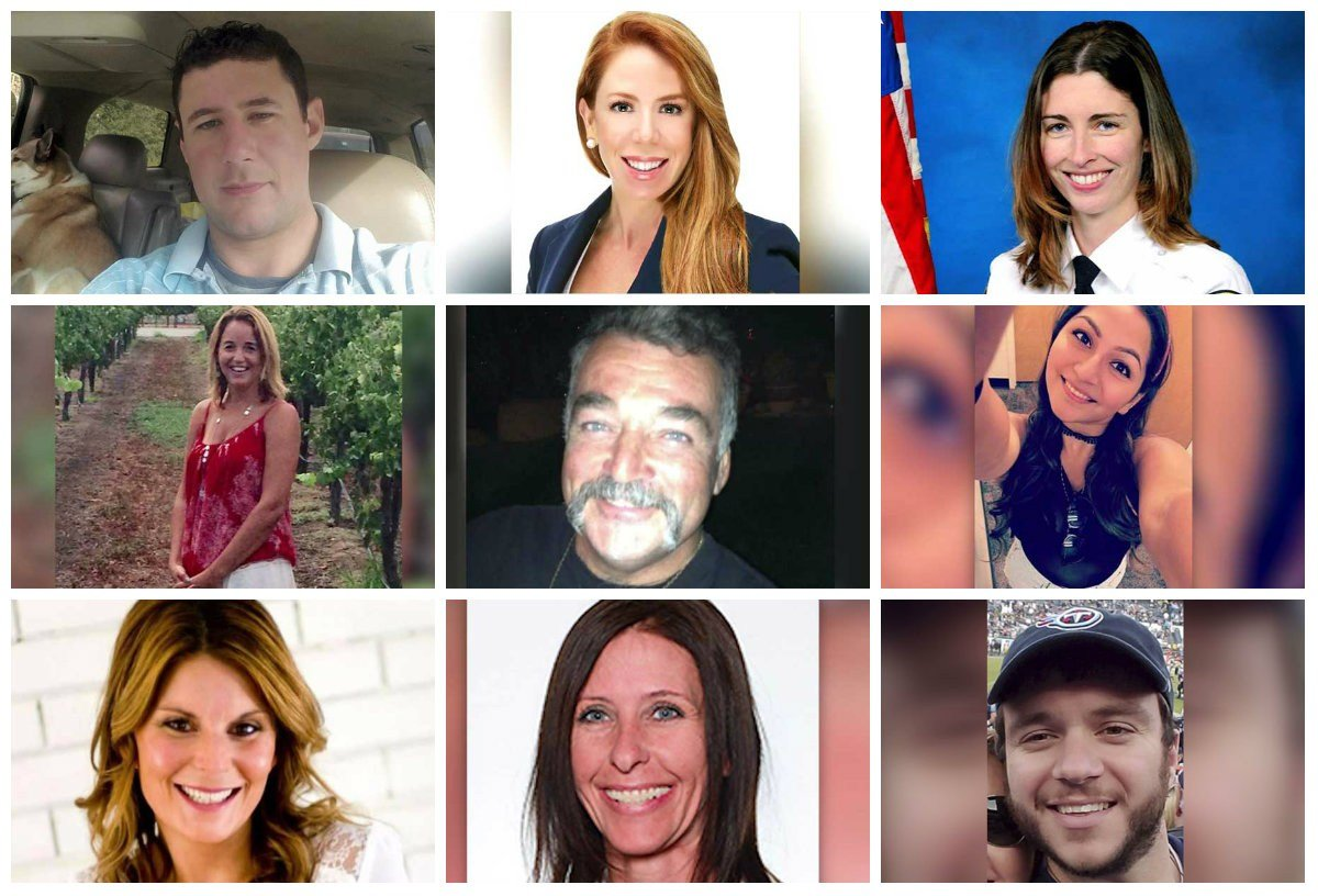 The images of those killed in Sunday's mass shooting are beginning to emerge. (Source: Contributed/AP/CNN)