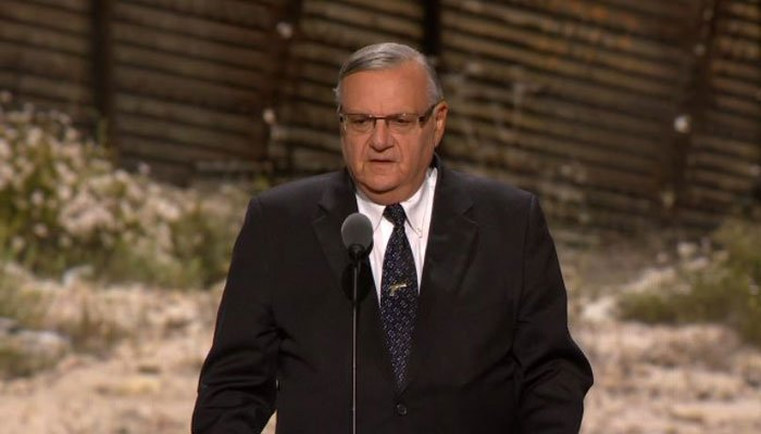 An Arpaio attorney says the judge rejected challenges to his pardon filed by outside groups,  and ruled the pardon was valid. (Source: Pool/CNN)