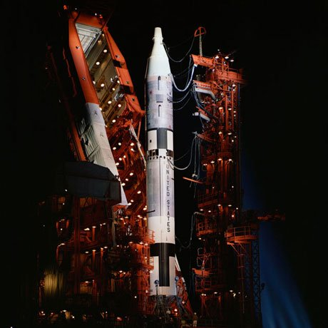 The Titan II missile was converted to the Gemini-Titan spacecraft and used for all of Project Gemini's 10 missions. (Source: NASA)