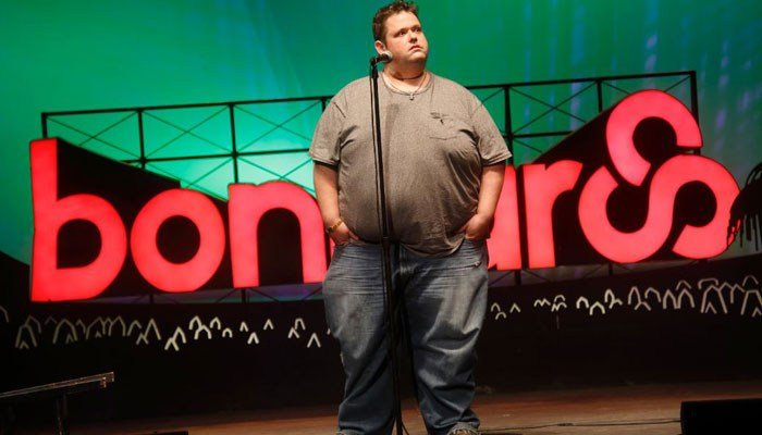 Ralphie May performs at the 2015 Bonnaroo Music and Arts Festival on Saturday, June 13, 2015, in Manchester, TN. (Source: Photo by John Davisson/Invision/AP)