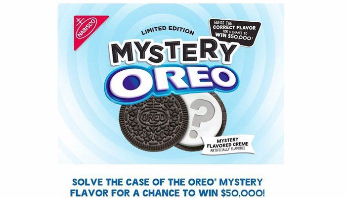 Anyone who can figure out Oreo's limited edition mystery flavor could be eligible for a chance to win. (Source: Nabisco Co./CNN)