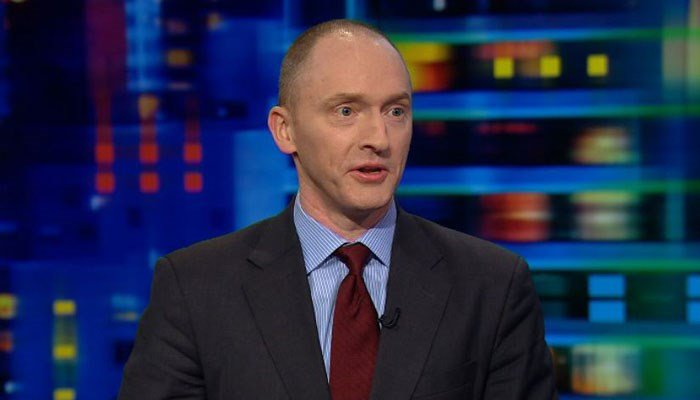 Carter Page taking the Fifth in Senate Russia investigation