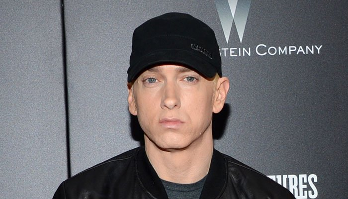 Eminem rapped for almost five minutes as he addressed issues such as Puerto Rico, the border wall and North Korea. (Source: Evan Agostini/Invision/AP, File)