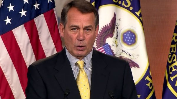 Speaker of the House John Boehner, R-OH (Source: CNN)