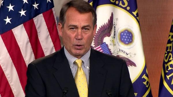 Speaker of the House John Boehner, R-OH (Source: CNN)
