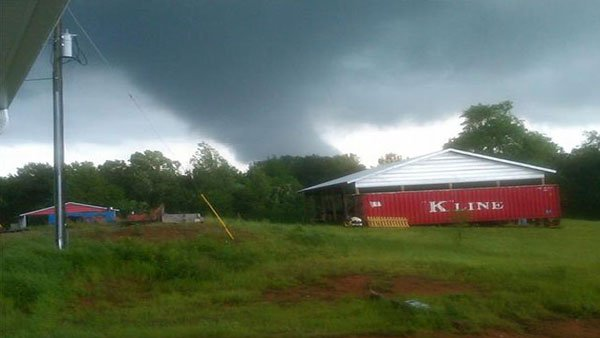 Tornadoes ripped through Alabama, decimating many homes and businesses. (Source: WSFA)