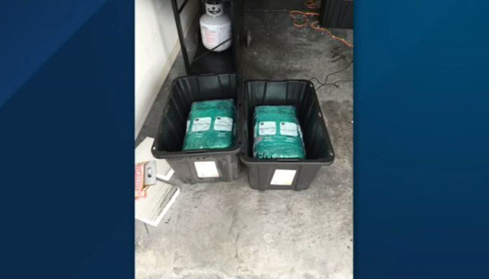 65 pounds of marijuana arrives with Florida couple's Amazon order