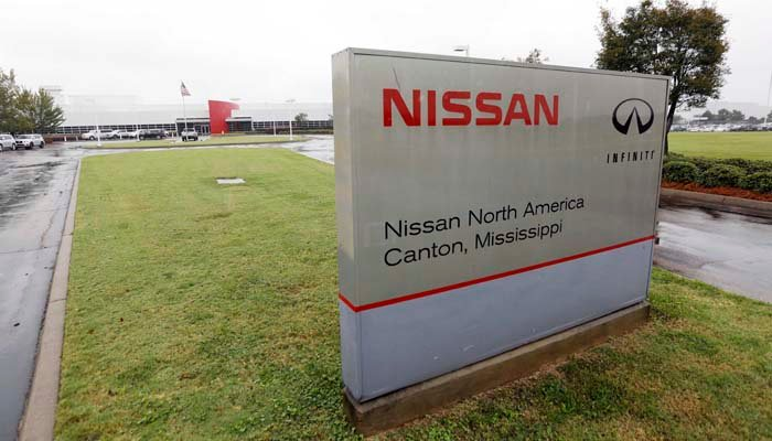 Nissan's assembly plant in Canton, MS, is one of many foreign-owned manufacturing plants in the U.S. (AP Photo/Rogelio V. Solis)