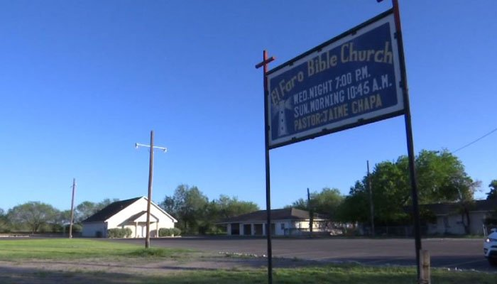 Because paid security guards are out of the question financially, the small church will be protected by its pastor and parishioners, all armed. (Source: KRGV/CNN)