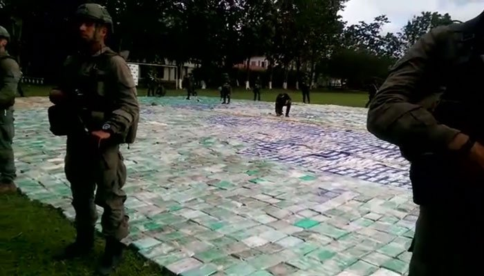 Colombia Announces Record Cocaine Seizure