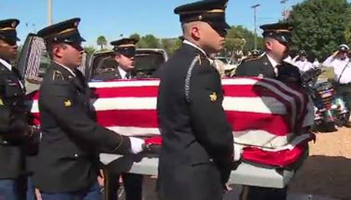 Sgt. Richard Gordon Sowell will receive full military honors. He will be buried at a family plot at Woodlawn Cemetery on Friday. (Source: WPBF/CNN)