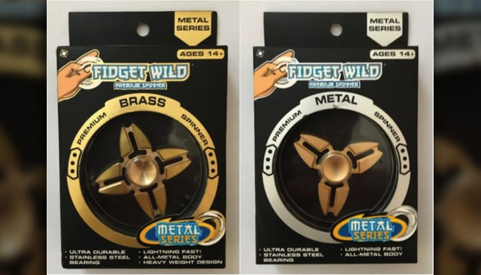 Target Fidget Spinners Reportedly Contain Too Much Lead for Kids