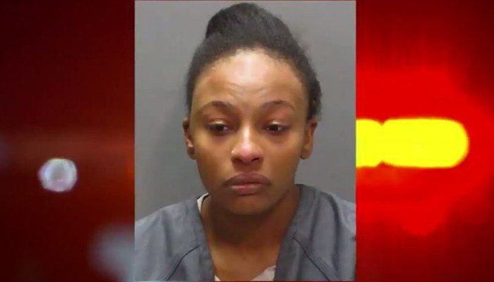 Police said the criminal case against 23-year-old Charlaya Moore began when an officer tried to pull her over because there was something suspicious about her car. Instead of stopping, she took off, the officer said. (Source: Duval County Jail/WJXT/CNN)