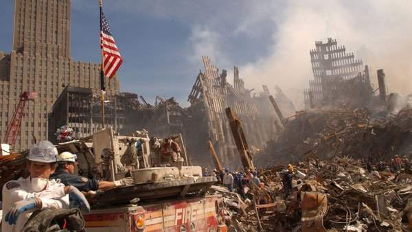 About 91,000 rescue, recovery and clean-up workers were exposed to toxic dust and chemicals in the wake of 9/11. (Source: FEMA)