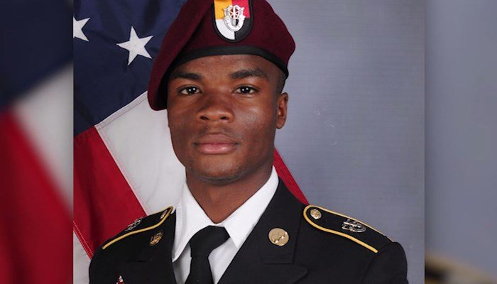 Sgt. La David Johnson was one of four Americans killed in the Oct. 4 ambush. (Source: Defense Department/CNN)