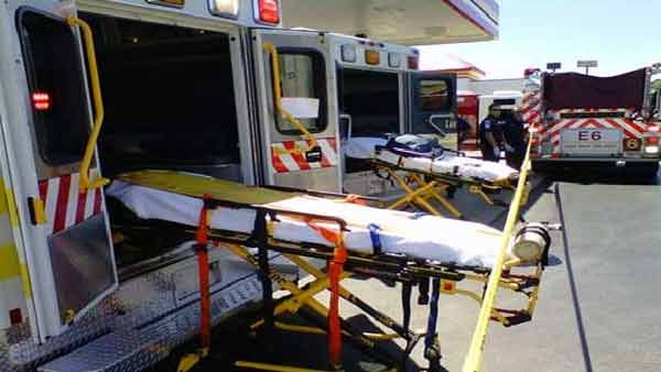 Nine victims were sent to a local hospital to check for respiratory problems. (Source: WTOC)