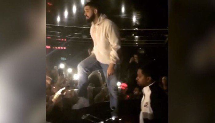 Drake threatens dude who was inappropriately touching women at a concert