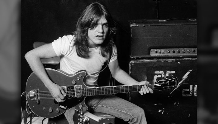 Malcolm Young was diagnosed with dementia in 2014 and stopped performing with the band he founded. (Source: AC/DC via Facebook)