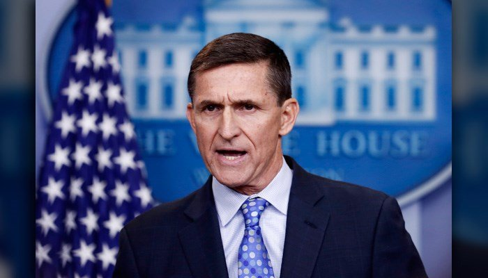 National Security Adviser Michael Flynn speaks during the daily news briefing at the White House, in Washington, Wednesday, Feb. 1, 2017. (AP Photo/Carolyn Kaster)
