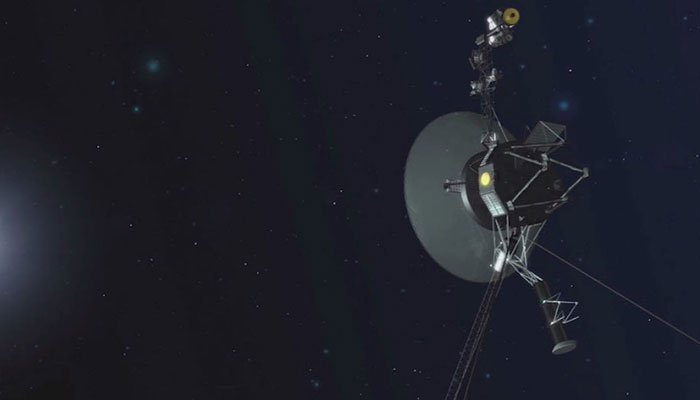 Voyager 1 is currently more than 13 billion miles away from Earth.  (Source: NASA/CNN)