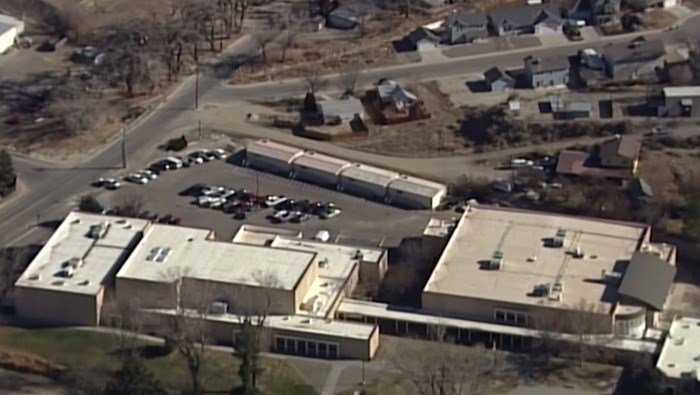New Mexico State Police said the two people killed were students at the high school in Aztec, NM. (Source: KOAT/CNN)