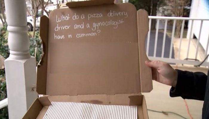 Worker fired for racy joke written inside pizza box - | WBTV Charlotte