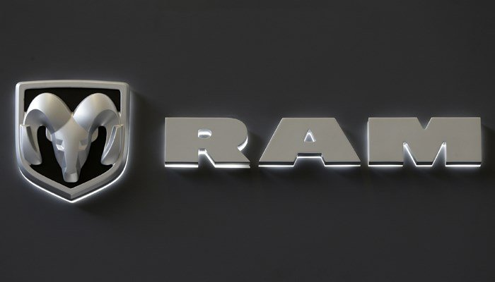 Dodge Ram logo. (Source: AP/Gene J. Puskar, file)