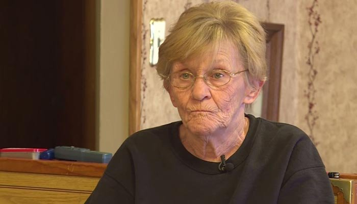 'You're going to die,'she said to the invader, who immediately fell over to the side of the window. (Source: WSAZ/CNN)