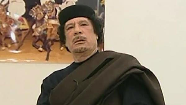 Ousted Libyan leader Moammar Gadhafi is dead, according to reports. (Source: CNN/File)